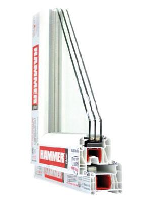 Serija profila HAMMER PLAST, proizvod proizveden po licenci firme HAMMER.