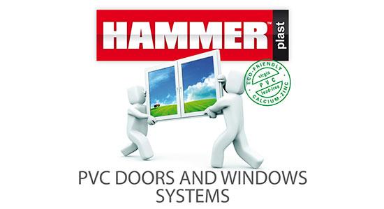 Serija profila HAMMER PLAST, proizvod proizveden po licenci firme HAMMER