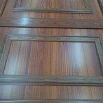 Aluminijumska vrata boje drveta